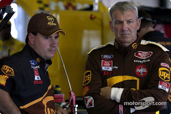 Crew chief Shawn Parker and Dale Jarrett