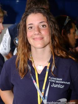 Natacha Gachnang, Formula BMW ADAC Championship driver 2003