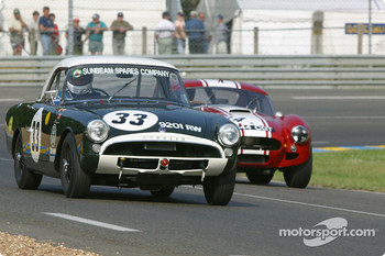 #33 Sunbeam Alpine Le Mans: Keith Hampson, Tristan Bradfie