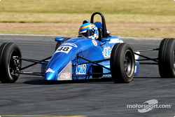 Clint Cathcart during Formula Ford practice