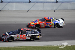 Kevin Harvick and Ricky Craven