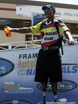 Pro Stock Bike rider Reggie Showers