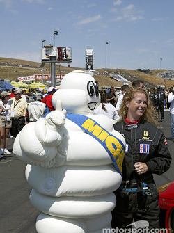 The Michelin man drops by