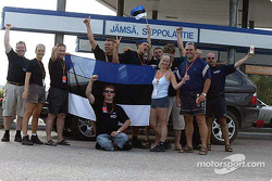 Fans from Estonia