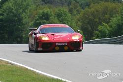 #32 Risi Competizione Ferrari 360 Modena: Mauro Baldi