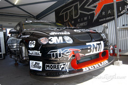 Team Kiwiís ìall blackî Holden Commodore