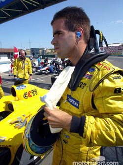 Zsolt Baumgartner on starting grid