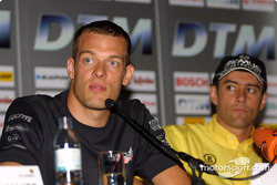 Press conference in Palais Ferstel, Vienna: Alexander Wurz