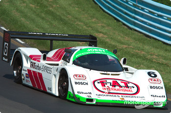 #6 1988 Porsche 962C, owned by Aaron Hsu