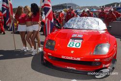 #80 Prodrive Ferrari 550 Maranello