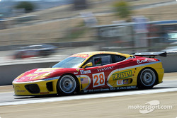 #28 JMB Racing USA/Team Ferrari Ferrari 360 Modena: Stephane Gregoire, Eliseo Salazar, Iradj Alexander