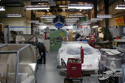 Visit at Fabcar: interior of the Fabcar shop