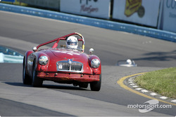 #222 Dick Powers - 1962 MGA MkII