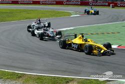 Zsolt Baumgartner ahead of Jos Verstappen