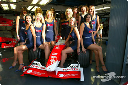 The lovely Denso girls