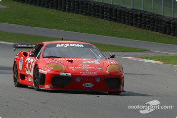 #33 Scuderia Ferrari of Washington Ferrari 360GT: Cort Wagner, Brent Martini