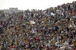Fans at Zandvoort
