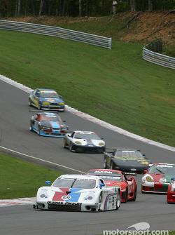 Start: #59 Brumos Racing Porsche Fabcar: Hurley Haywood, J.C. France, Max Papis