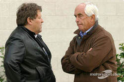 Norbert Haug and Roger Penske