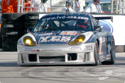 #43 Orbit Racing Porsche 911 GT3RS: Marc Lieb, Peter Baron