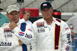 Parnelli Jones and Bill Vukovich