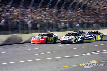 Jeff Gordon, Ryan Newman and Jimmie Johnson