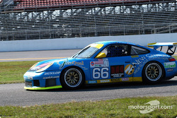 #66 The Racers Group Porsche GT3 RS: Kevin Buckler, Chris Gleason, Pierre Ehret