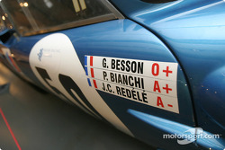 Detail of the 1966 Alpine-Renault A210