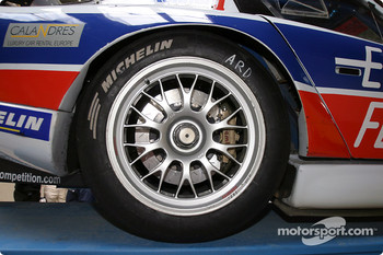 Detail of the #86 Larbre Competition Chrysler Viper GTSR
