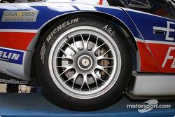 Detail of the #86 Larbre Competition Chrysler Viper GTSR