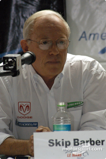 ALMS press conference: Skip Barber