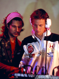 Jenson Button at Paradiso