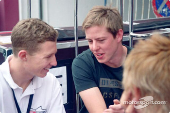 Ryan Briscoe and James Courtney