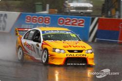 Max Wilson in the wet