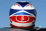 Olivier Panis' new helmet design