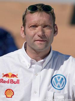 Volkswagen Motorsport director Kris Nissen