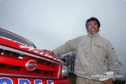 Nissan Dessoude test: Jun Mitsuhashi