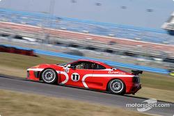 #11 JMB Racing USA Ferrari 360GT: Edi Gay, Diego Alessi, Irady Alexander
