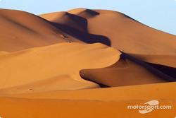 Spectacular dunes near Er Rachidia
