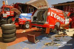 Nissan Dessoude service area