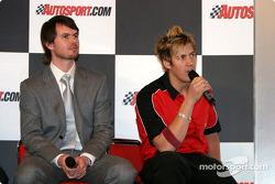 James Thompson and Luke Hines interview on Autosport Stage