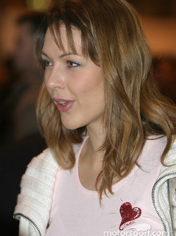 Louise Griffiths at Autosport International