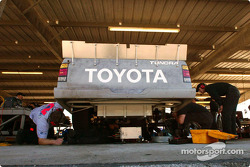 Working on the new Toyota truck