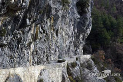 The Sigale - Col de Bleine stage features the famous Clues d'Aiglun