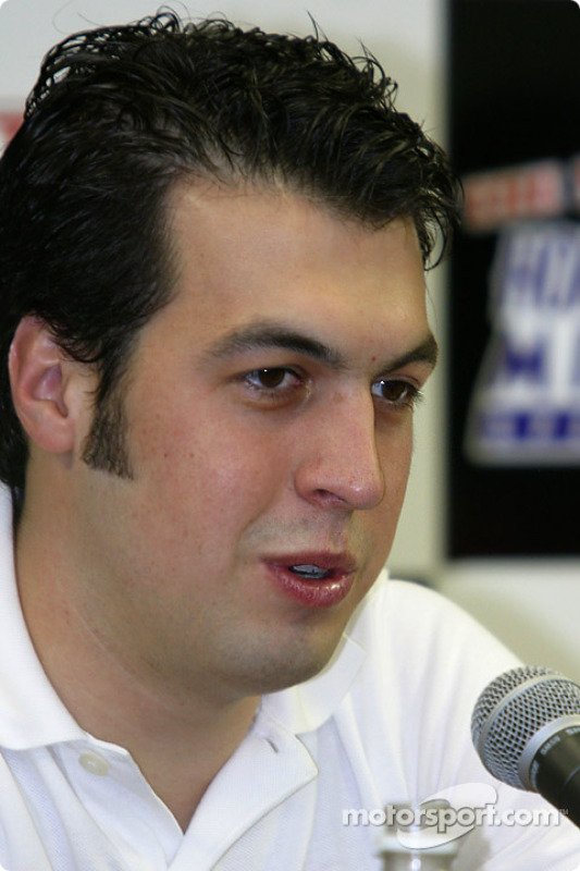 2003 Championship contenders press conference: Sam Hornish Jr.