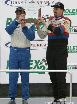 ST podium: class winners John Schmitt and Mike Liebl