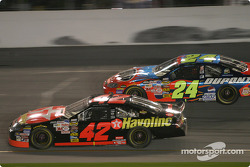 Jamie McMurray and Jeff Gordon