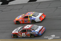 Kyle Petty and Ricky Craven