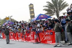 Fans in Bahrain