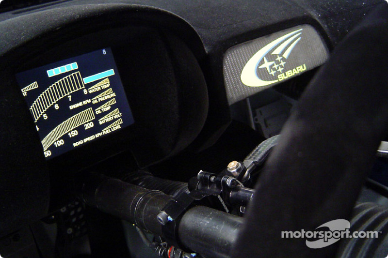 The new subaru impreza wrc2004 dashboard information for Interieur wrc